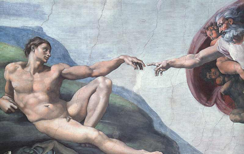 "Creation of Adam - ""Everyman"""